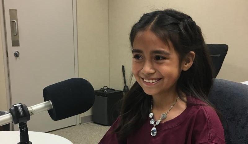 Mia Abrajan is a student at Venetia Valley School