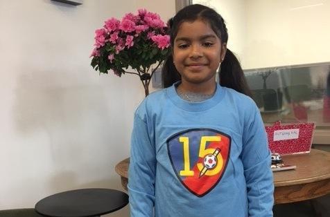 J Serra School student Pamela Alvarez (AmericaSCORES Bay Area)