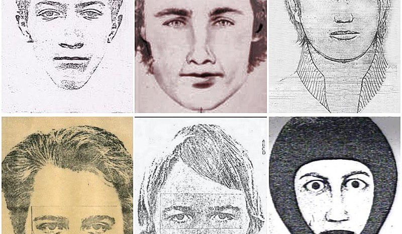 Golden State Killer renderings