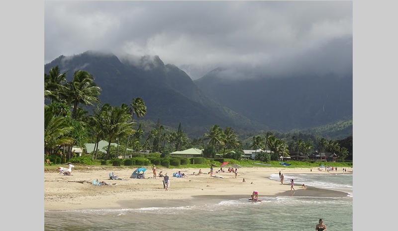 Hana beach