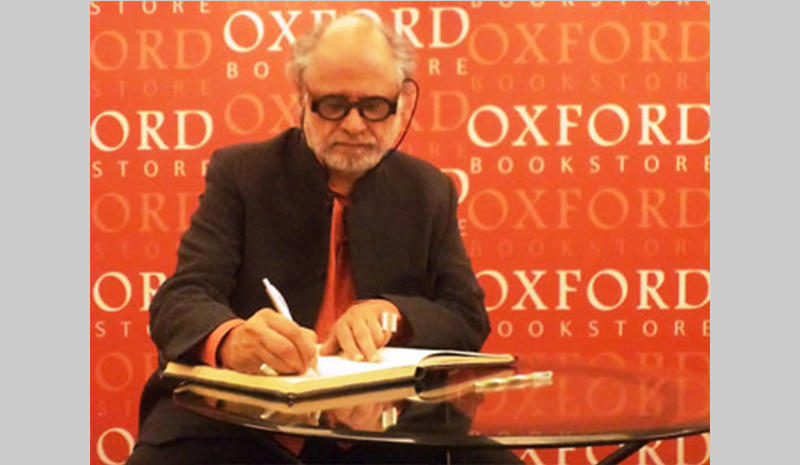 Dr. Homi Bhabha at the Oxford bookstore in Kolkata
