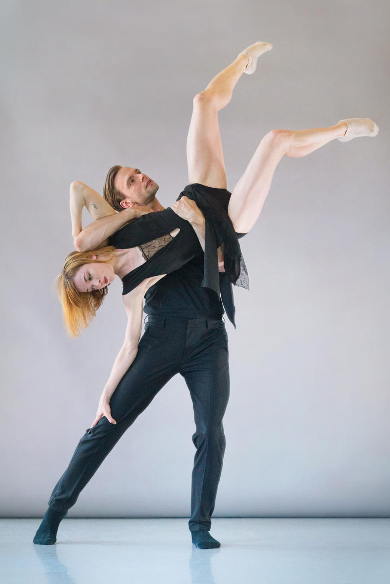 Laura O'Malley and Brett Conway for SFDanceworks…