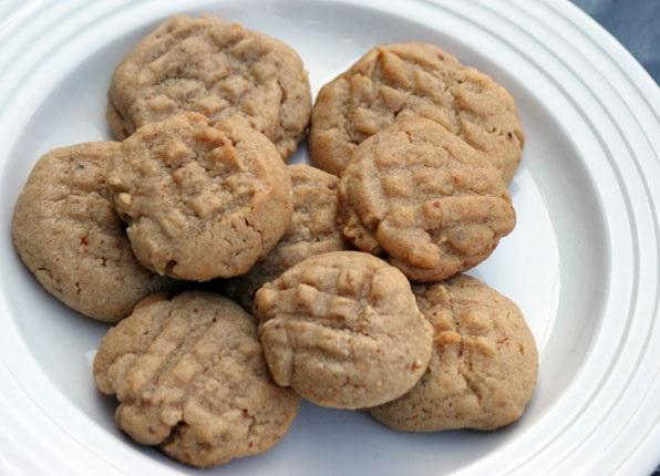 ultimate peanut butter cookies  (These are ridiculously good), by flickr user Maggie Hoffman