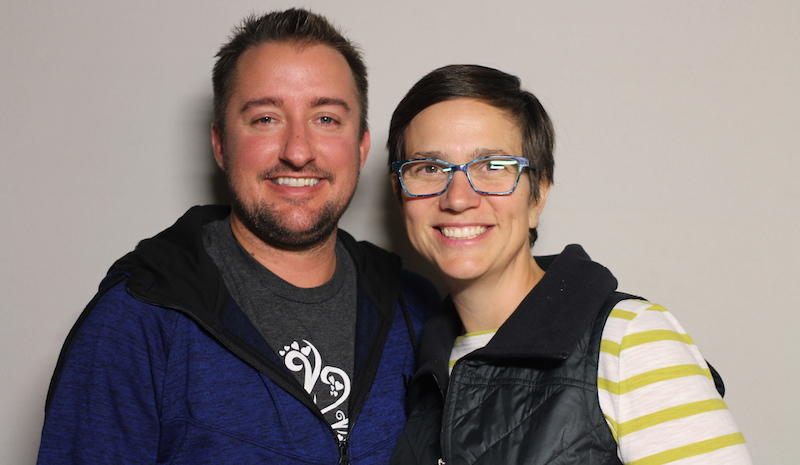 Kristian Maul and Bethany Snyder