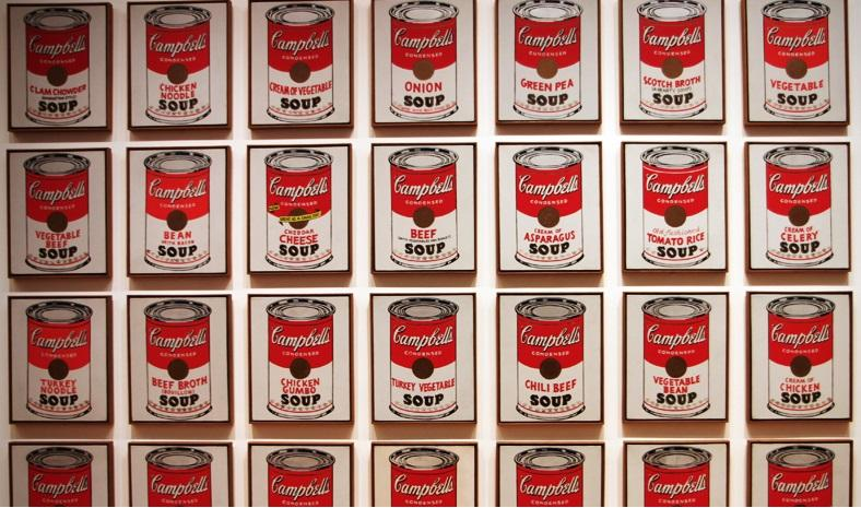 campbell's soup cans, taken by flickr user  camerabee