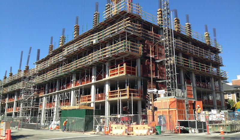PRO Melinda Stuart New Student Housing, UC Berkeley. (July 13, 2017)