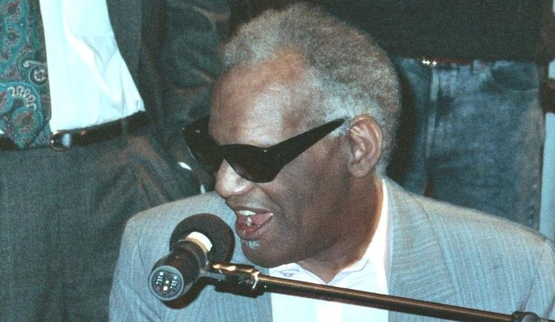 Ray Charles  1990 Grammy Awards, photo by flicr user Alan Light Follow