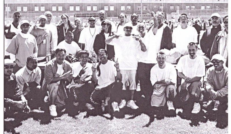 Participants in the ROOTS program at San Quentin Prison.