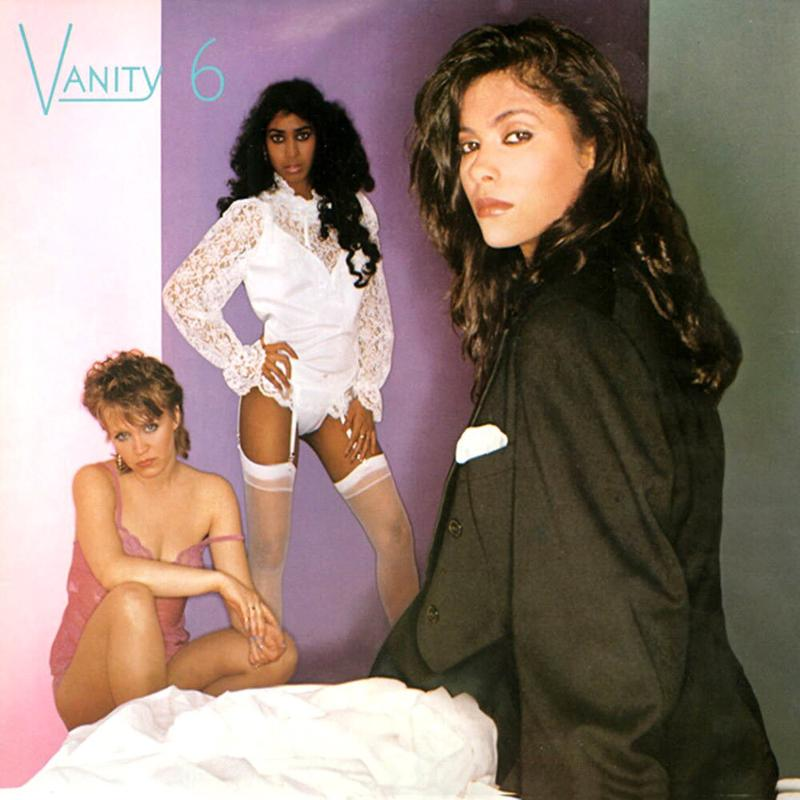 Vanity 6 album cover from self titled album