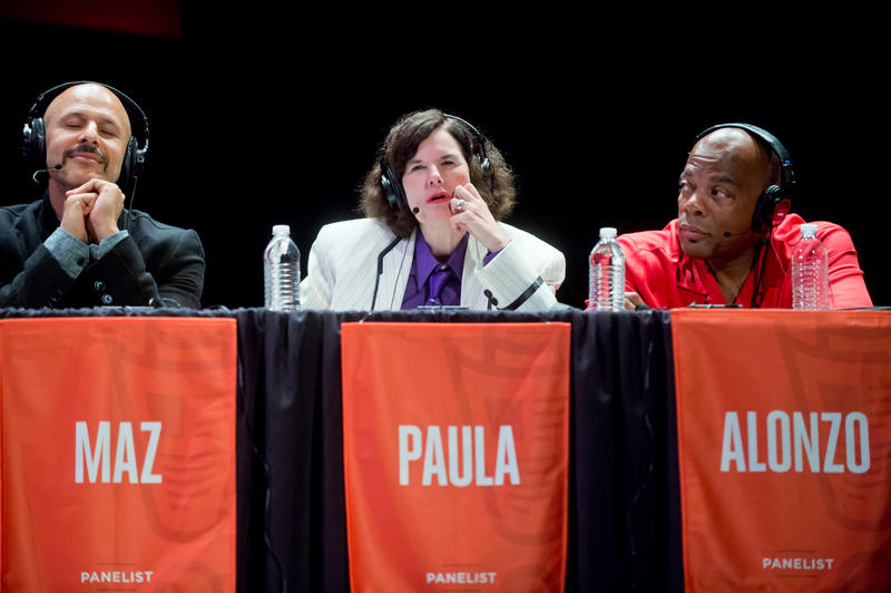 Maz Jobrani, Paula Poundstone, and Alonzo Bodden