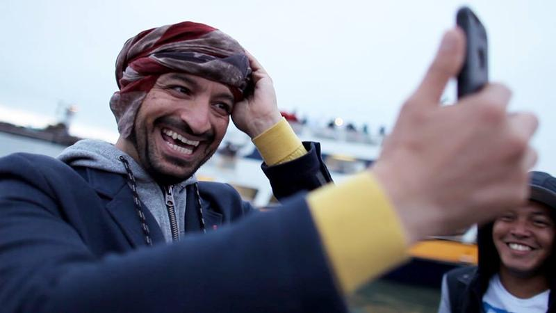 """A still from """"From Baghdad to the Bay,"""" a documentary being shown at the Arab Film Festival 2018"""
