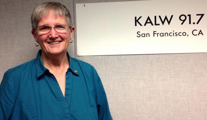 Nancy Sidebotham visited the KALW studios ahead of the last mayoral election.