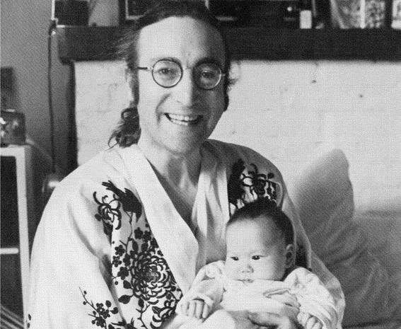 Happy Birthday John and Sean Lennon. December 11th, 1975, taken by flickr user NeilFraudstrong