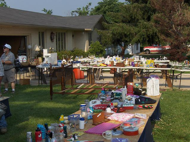Pinole residents held a garage sale to raise funds for city programming
