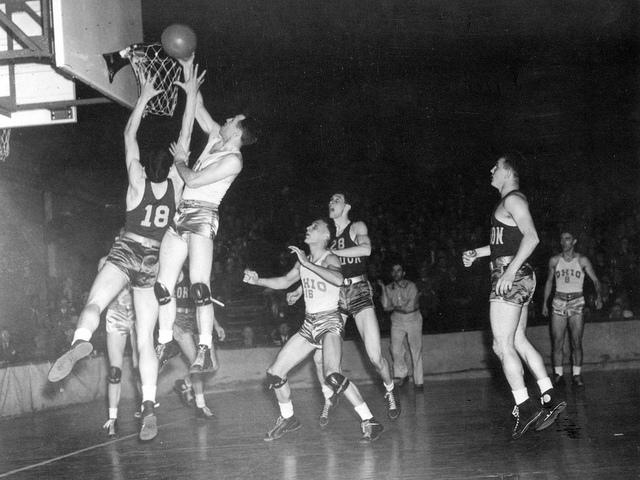 1939 - 1st NCAA Basketball Tournament, Oregon -v- Ohio State (highlighted story below)