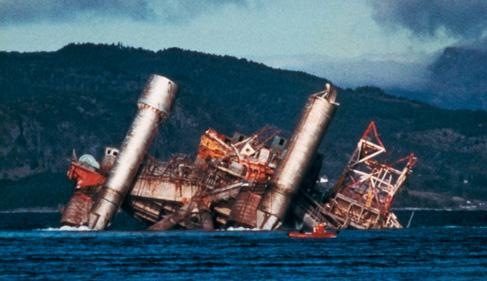 1980 North Sea Oil Rig Collapse (highlighted story below)