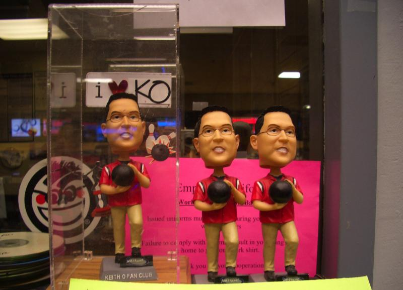Keith O bobble-heads