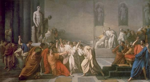 Ides of March 44 B.C. (highlighted story below)