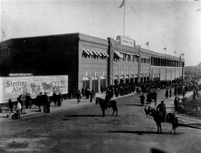 Opening Day Fenway Park - 1912