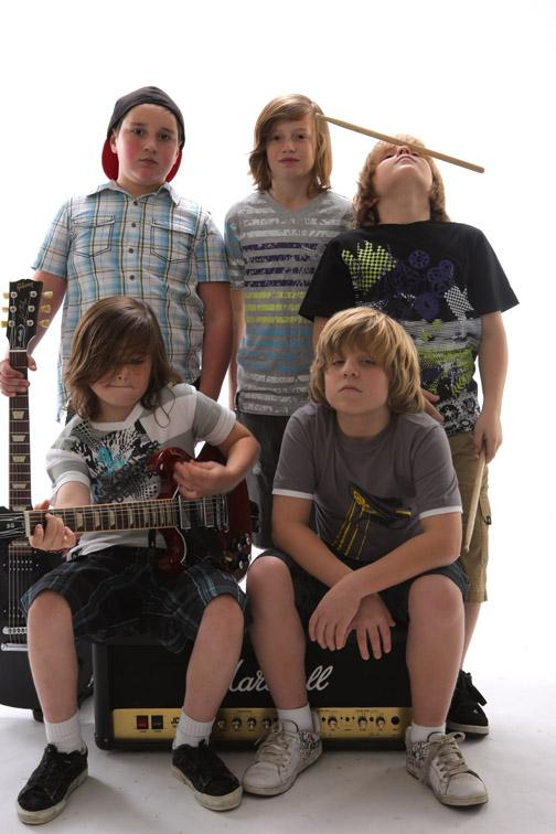 Haunted By Heroes, 'the world's youngest rock band.'