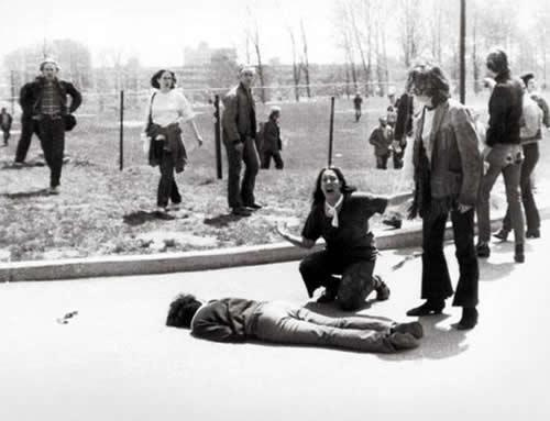 Kent State Massacre - 1970 (highlighted story below)