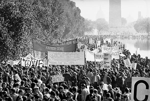 1969 - Moratorium march Washington D.C. (highlighted story below)