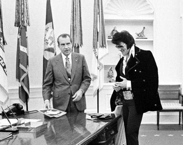 1970 - Elvis meets Nixon