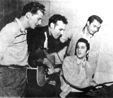 1956 - The Million Dollar Quartet (highlighted story below)