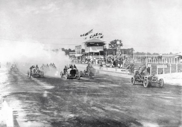 1909 - Indianapolis Motor Speedway (highlighted story below)