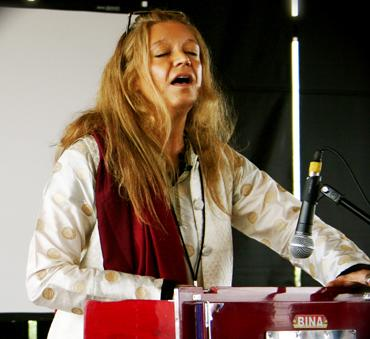 Musician and composer, Silvia Nakkach
