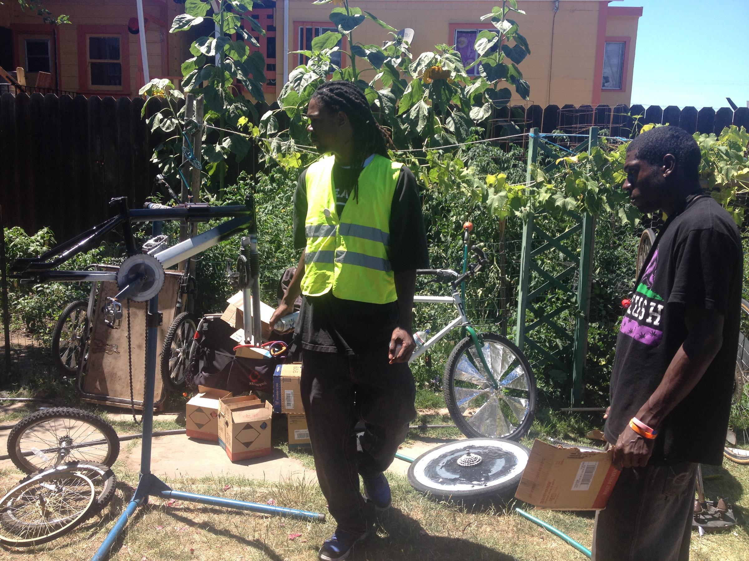 east oakland u0027s scraper bike team takes over the streets