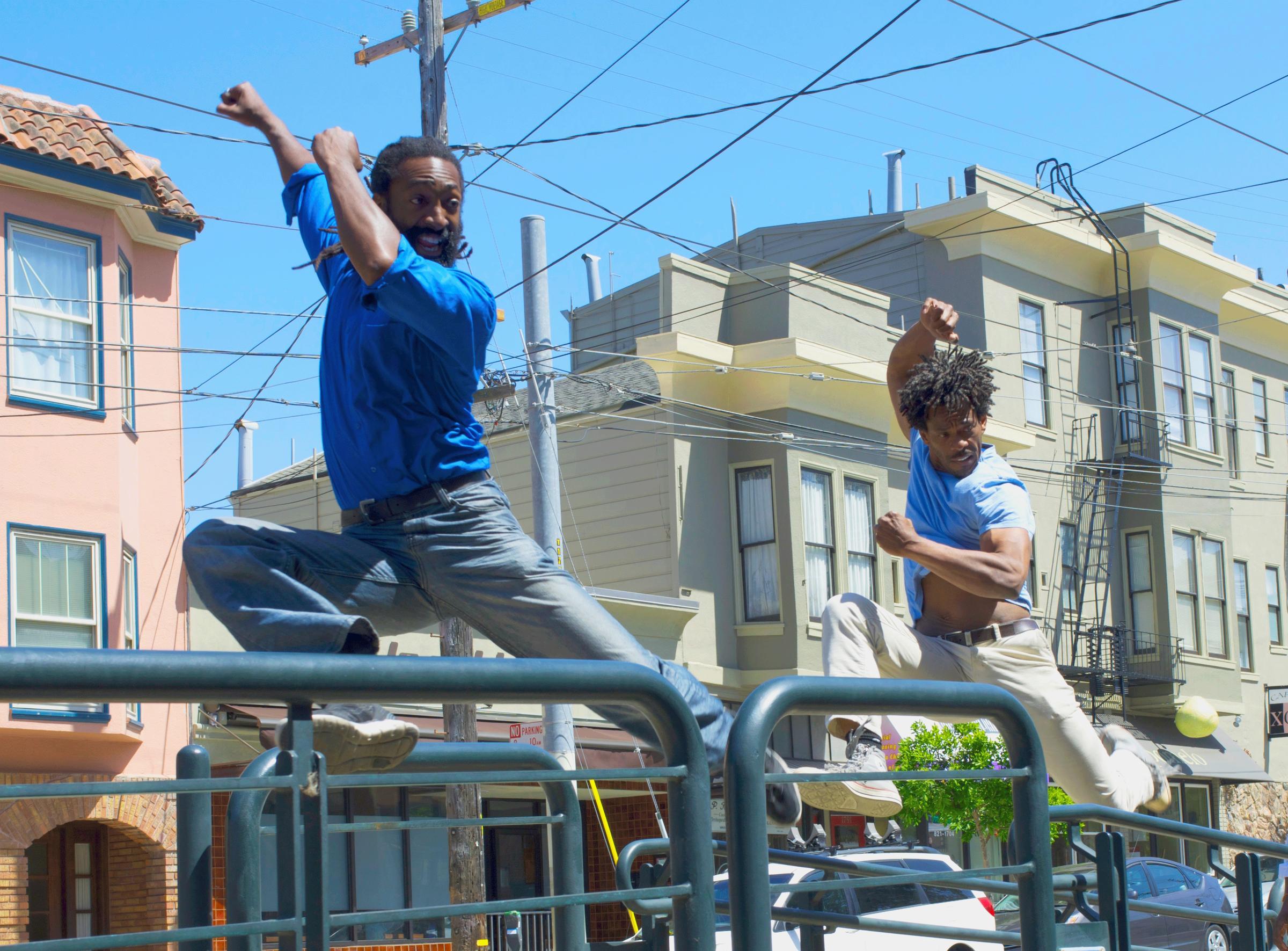 Antoine Hunter And C Derrick Jones Sf Trolley Dances