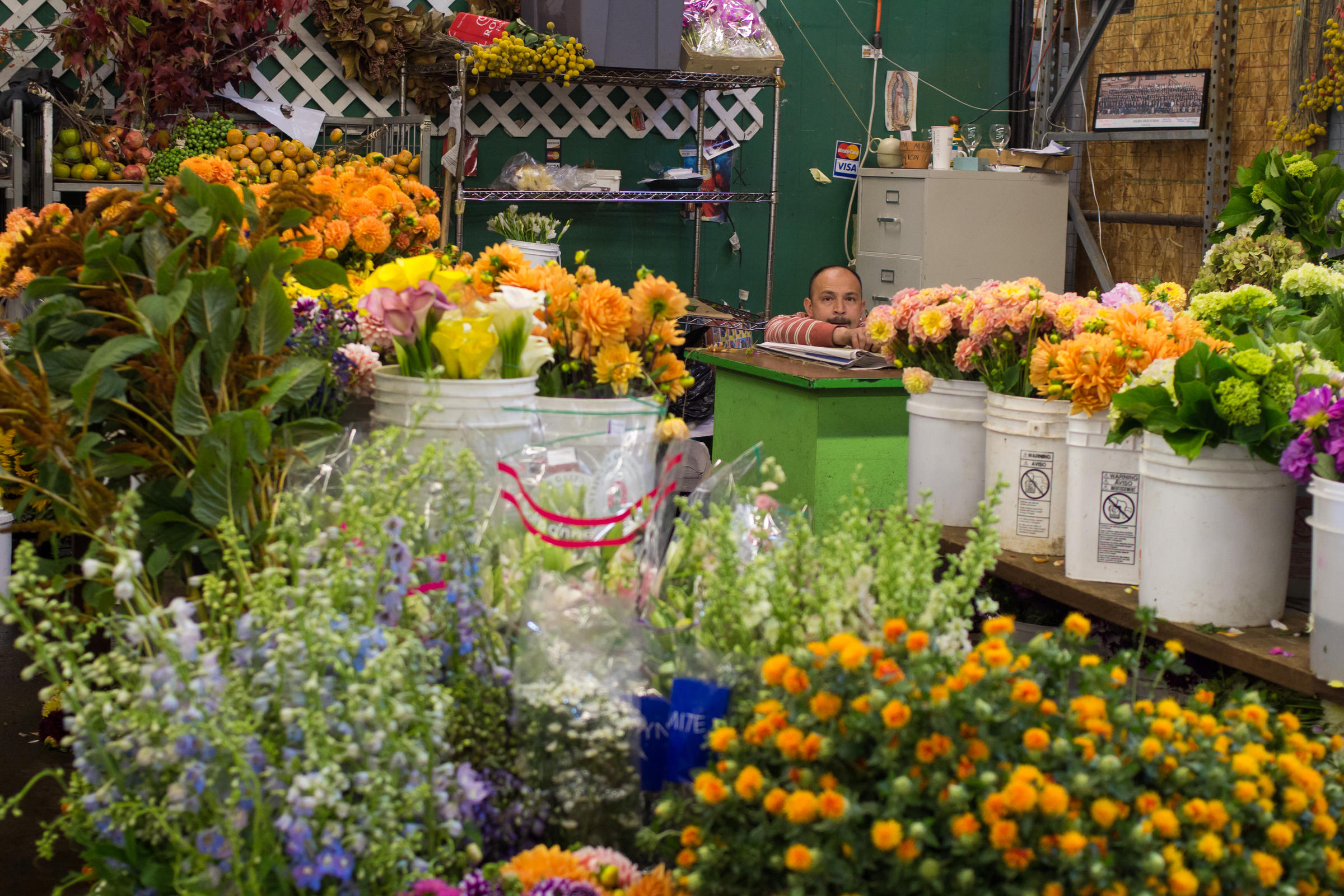 Audiograph s Sound of the Week San Francisco Flower Mart