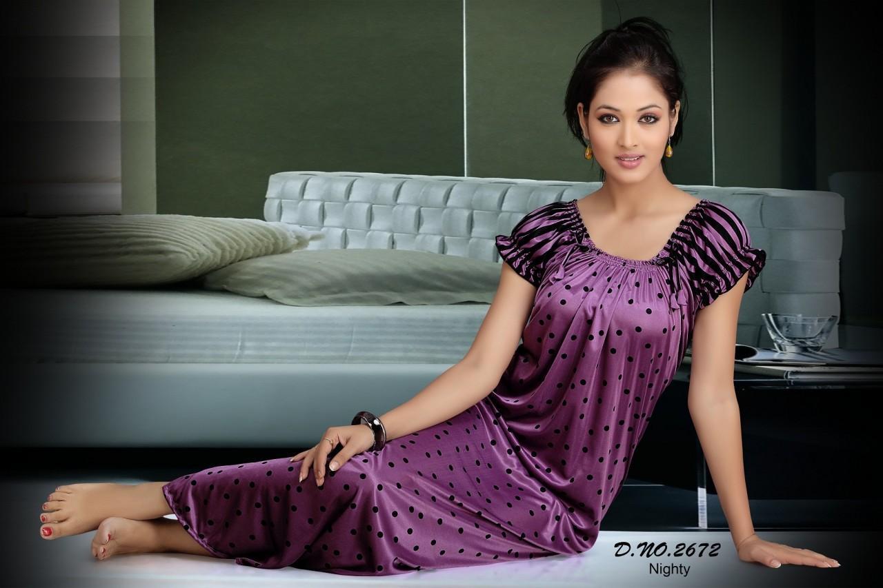 Indian night dress girls