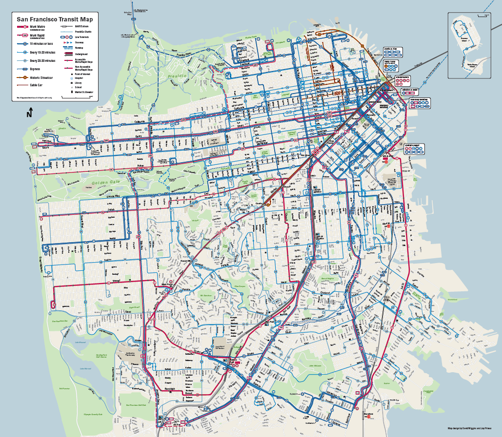 Google Maps vs. Muni maps: what the bus map makeover says about