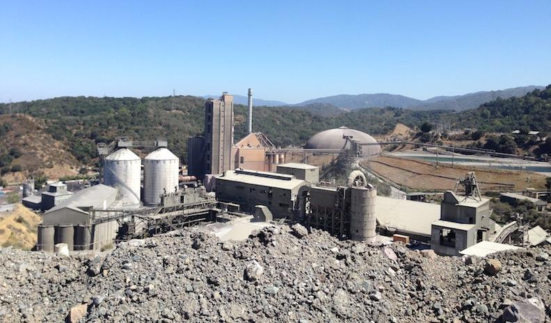 Huge Cement Plant : Cement plant rankles silicon valley neighbors kalw