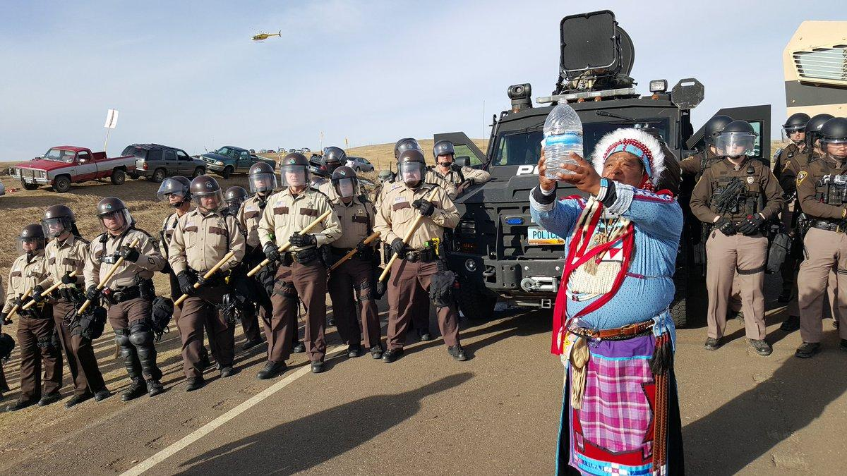 Standing Rock in America's Tradition of Indigenous Suppression