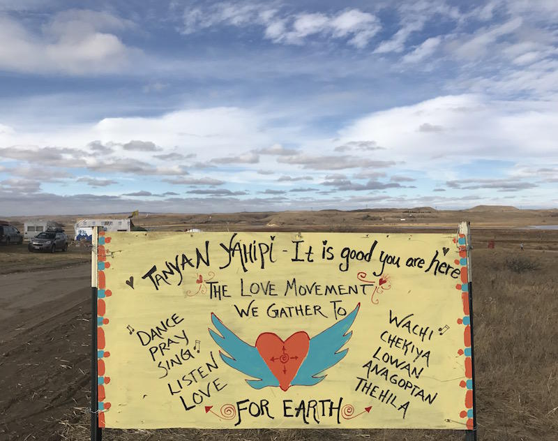 New standoff in protest over Dakota pipeline