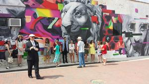 SLIDESHOW: Students Finish Mural in Downtown Jonesboro