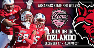 A-State Football Accepts Cure Bowl Invitation