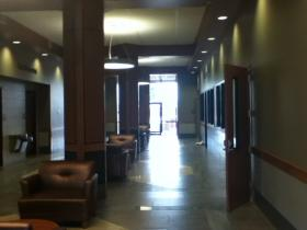 First floor of new city hall.