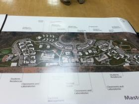 Arkansas State University Queretaro Campus Master Plan.  Click to enlarge this image.