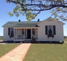 Johnny Cash Boyhood Home in Dyess.