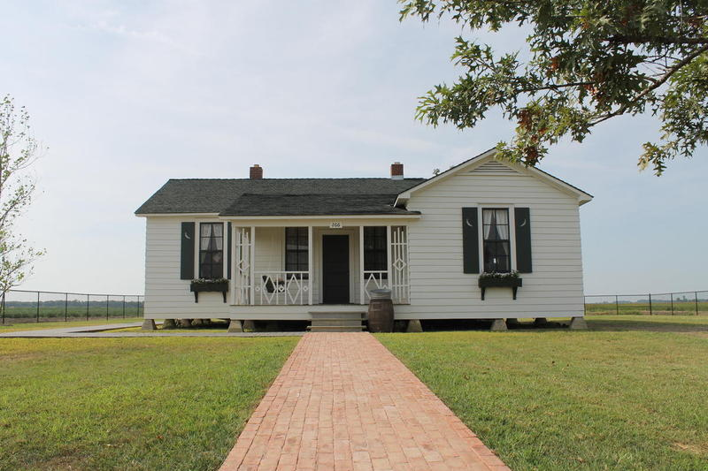 Johnny Cash's boyhood home restored.  It's a part of the ASU Heritage Sites.