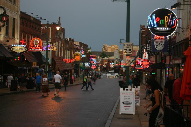 Beale Street, Downtown Memphis
