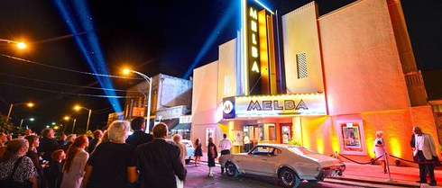 The Melba Theater in Downtown Batesville, picture from Arkansas Parks and Tourism, credit Talk Business and Politics