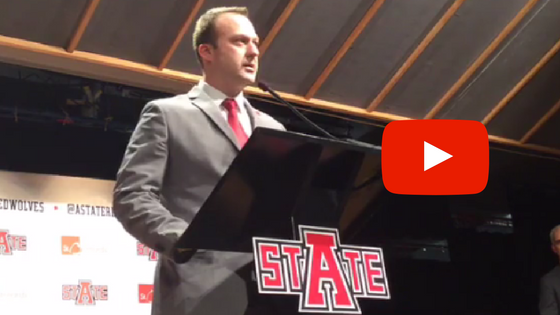 Mike Balado is the new Arkansas State Red Wolves Men's Head Basketball Coach