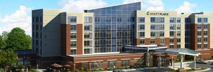 Rendering of the possible Jonesboro hotel appearance with the Keller Convention Center project.