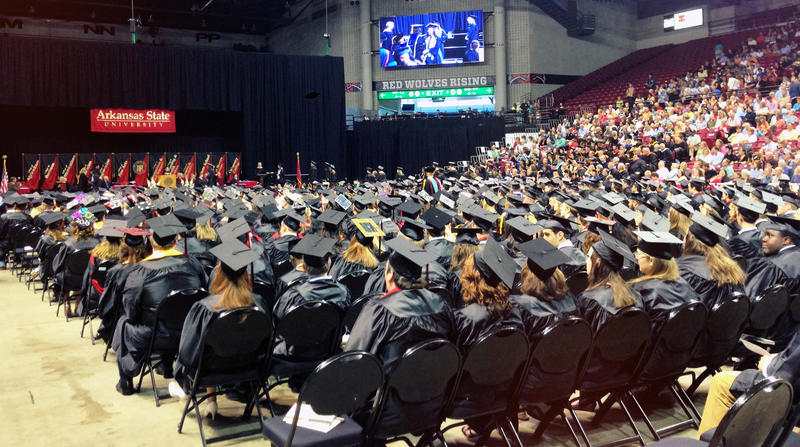 File photo of Arkansas State University's 2013 Graduating Class