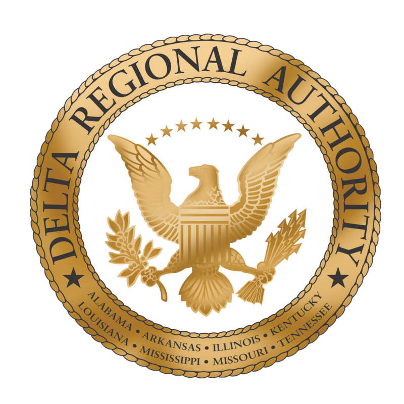 The seal for the Delta Regional Authority courtesy of Wikipedia